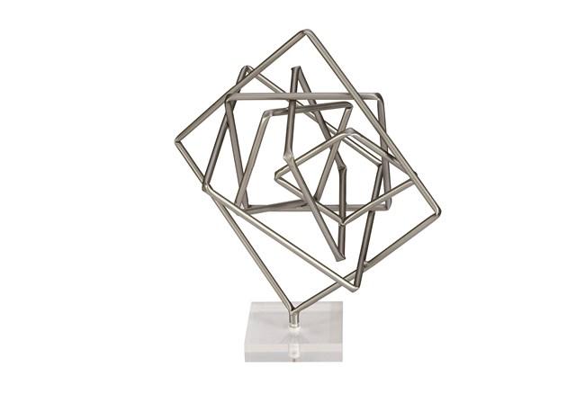 Gunmetal And Acrylic Sculpture - 360