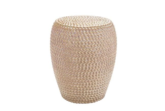 Gold Ceramic Stool - 360