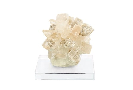 5 Inch Calcite With Glass Base