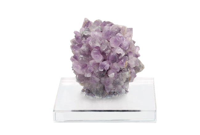 5 Inch Amethyst On A Stand - 360