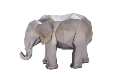 8 Inch Silver Elephant - Main