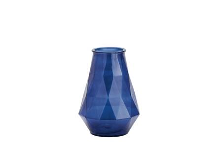 15 Inch Cobalt Glass Vase