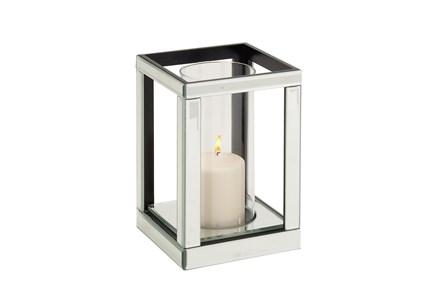 Wood Mirror Candleholder