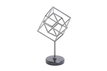 Metal Marble Sculpture - Main