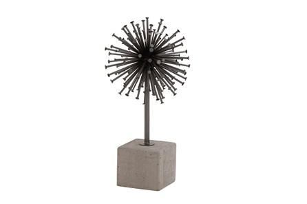 Metal Concrete Sculpture