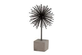 Metal + Concrete Sputnik On Base
