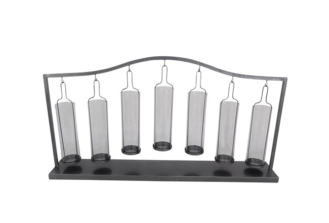 Metal Glass Votive Holder - 360