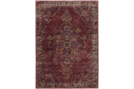 94X130 Rug-Adarra Moroccan Red - Main