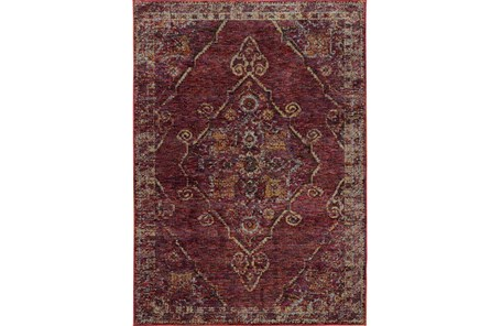 102X139 Rug-Adarra Moroccan Red - Main