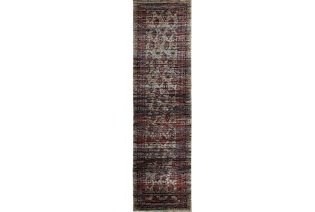 27X96 Rug-Elodie Moroccan Red