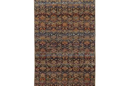 102X139 Rug-Aya Moroccan Multi