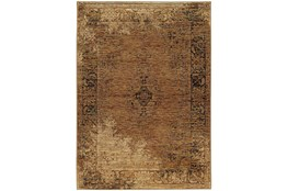 94X130 Rug-Adarra Moroccan Faded Gold
