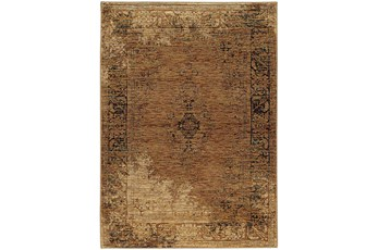 "7'8""x10'8"" Rug-Adarra Moroccan Faded Gold"