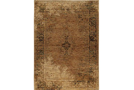 102X139 Rug-Adarra Moroccan Faded Gold