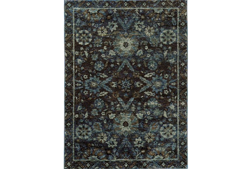 "1'9""x3'2"" Rug-Ines Moroccan Blue"