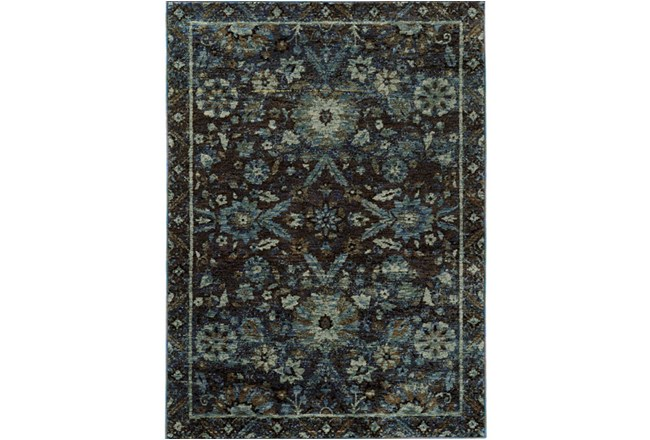 63X87 Rug-Ines Moroccan Blue - 360