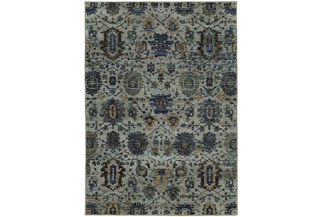 79X114 Rug-Ines Moroccan Blue - 360