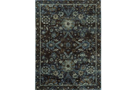 94X130 Rug-Ines Moroccan Blue - Main