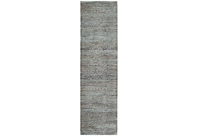 27X96 Rug-Elodie Moroccan Taupe - 360