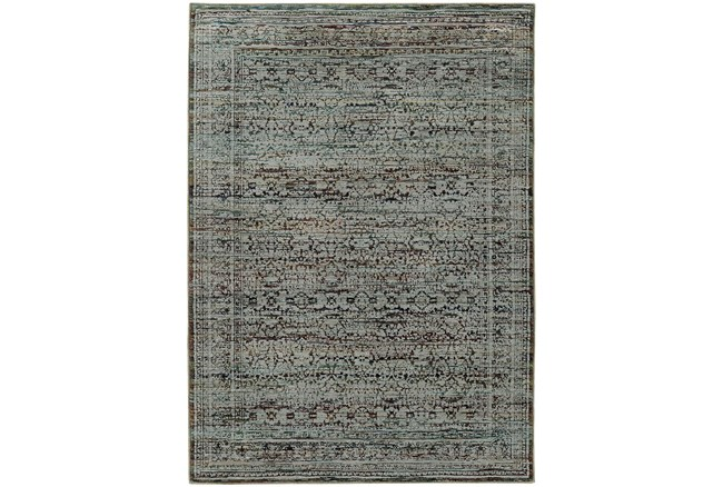 94X130 Rug-Elodie Moroccan Taupe - 360