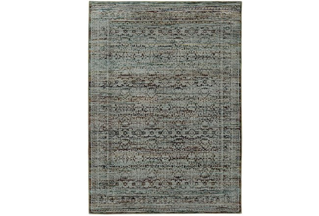102X139 Rug-Elodie Moroccan Taupe - 360