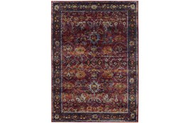 "1'9""x3'2"" Rug-Mariam Moroccan Red"