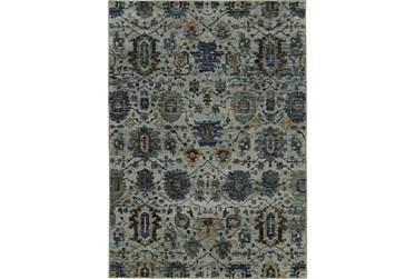 "3'3""x5'2"" Rug-Yasmine Moroccan Blue/Olive"