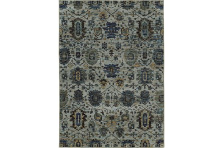 39X62 Rug-Yasmine Moroccan Blue/Olive
