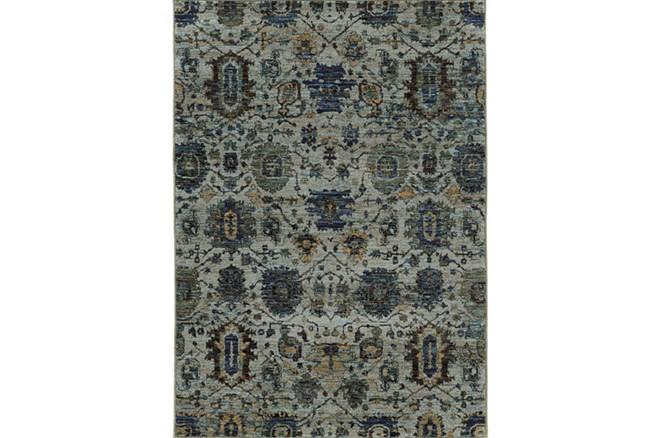 79X114 Rug-Yasmine Moroccan Blue/Olive - 360