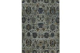 94X130 Rug-Yasmine Moroccan Blue/Olive