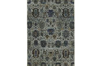 "7'8""x10'8"" Rug-Yasmine Moroccan Blue/Olive"