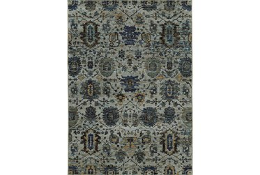 "8'5""x11'6"" Rug-Yasmine Moroccan Blue/Olive"