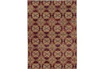 39X62 Rug-Safaa Tile Red