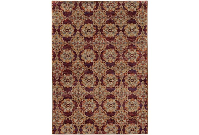 63X87 Rug-Safaa Tile Red - 360
