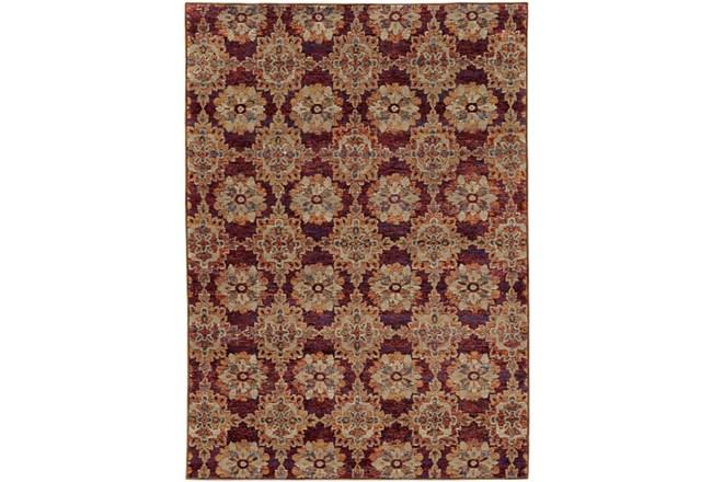 94X130 Rug-Safaa Tile Red - 360