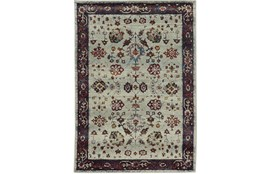 63X87 Rug-Mariam Moroccan Stone/Red