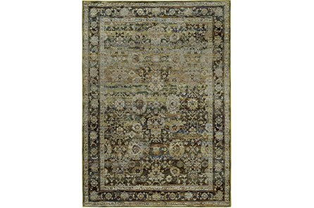 94X130 Rug-Mariam Moroccan Olive