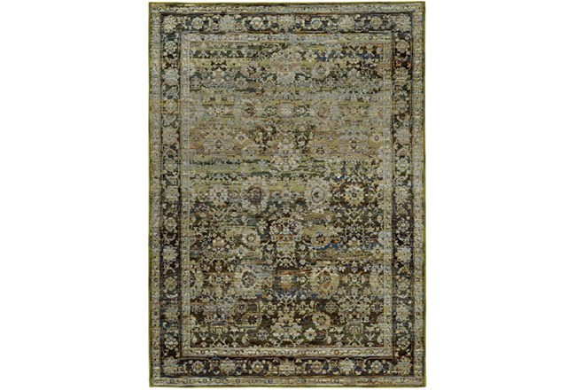 94X130 Rug-Mariam Moroccan Olive - 360