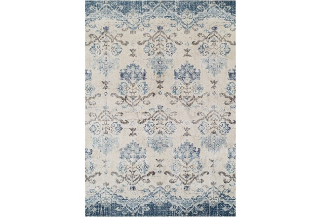 "7'8""x10'6"" Rug-Windsor Blue - 360"
