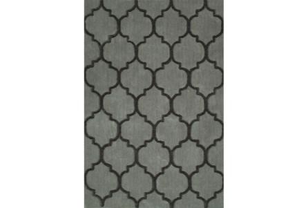 60X90 Rug-Modern Clove Silver