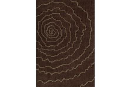 42X66 Rug-Modern Bloom Chocolate