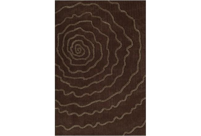 60X90 Rug-Modern Bloom Chocolate - 360