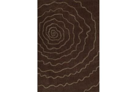 96X120 Rug-Modern Bloom Chocolate