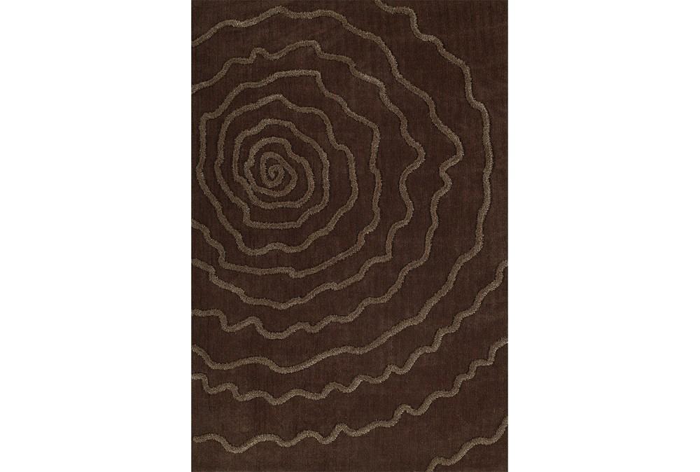 9'x13' Rug-Modern Bloom Chocolate