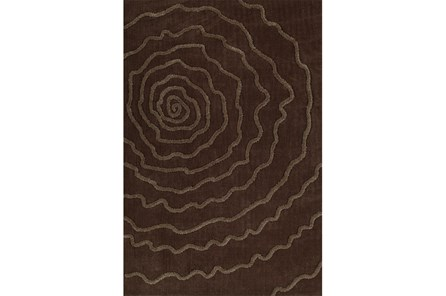 108X156 Rug-Modern Bloom Chocolate