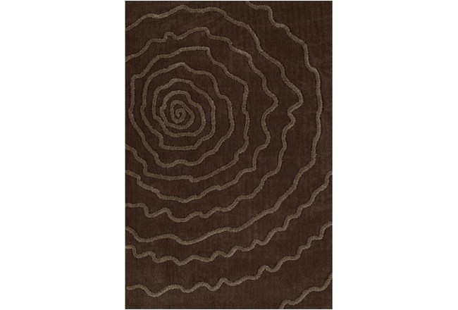 108X156 Rug-Modern Bloom Chocolate - 360