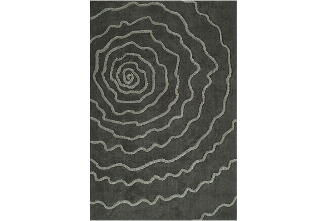60X90 Rug-Modern Bloom Grey - 360