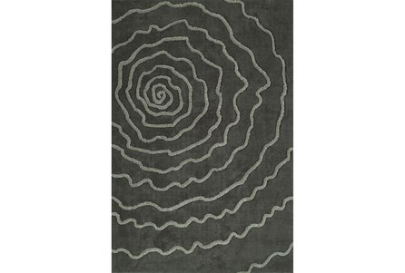 96X120 Rug-Modern Bloom Grey