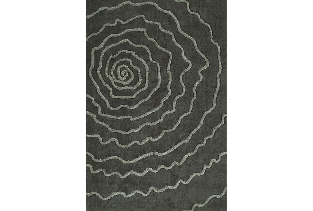 108X156 Rug-Modern Bloom Grey