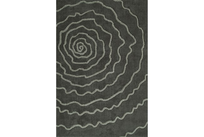 108X156 Rug-Modern Bloom Grey - 360
